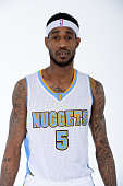 Will Barton of the Denver Nuggets poses for photos on March 2 2015 at the Pepsi Center in Denver Colorado NOTE TO USER User expressly acknowledges...