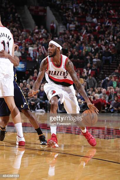 Will Barton of the Portland Trail Blazers controls the ball against the Utah Jazz on December 6 2013 at the Moda Center Arena in Portland Oregon NOTE...