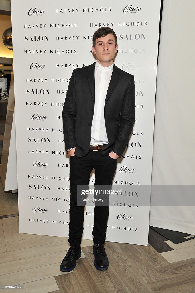 Will Best attends the launch of 1205 Paula Gerbase Hosted By Harvey Nichols ahead of the London Collections: MEN AW13 at on January 6, 2013 in London, England.