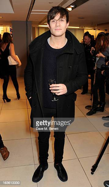 Will Best attends the Panasonic Technics 'Shop To The Beat' Party hosted by George Lamb at French Connection Oxford Circus on March 13 2013 in London...