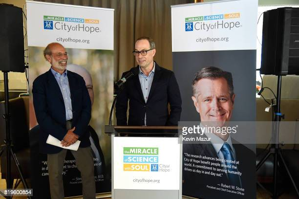 Will Botwin President and CEO Red Light Management speaks during City of Hope's The New York Spirit Of Life Campaign kick off event honoring Coran...