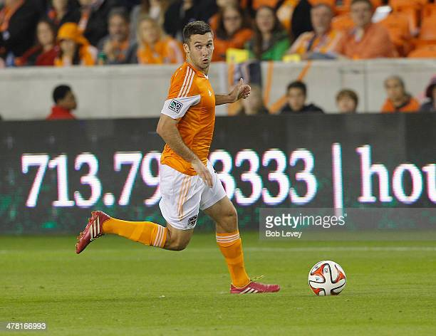 Will Bruin of Houston Dynamo at BBVA Compass Stadium on March 8 2014 in Houston Texas