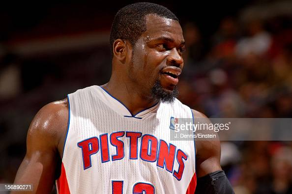 Will Bynum of the Detroit Pistons smiles during a game against the Toronto Raptors on November 23 2012 at The Palace of Auburn Hills in Auburn Hills...