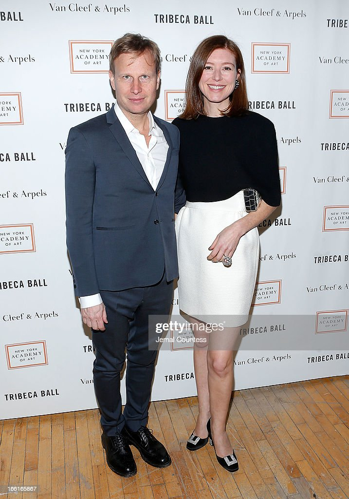 Will Cotton and Rose Dergan attend the 2013 Tribeca Ball at New York Academy of Art on April 8, 2013 in New York City.