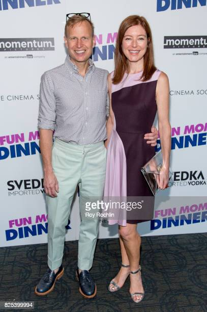Will Cotton and Rose Durbin attend the screening of 'Fun Mom Dinner' at Landmark Sunshine Cinema on August 1 2017 in New York City