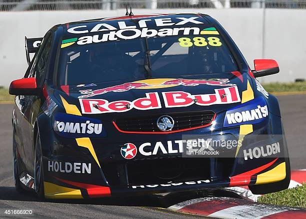 Will Craig Lowndes drives the Red Bull Racing Australia Holden during practice for the Townsville 500 which is round seven of the V8 Supercar...