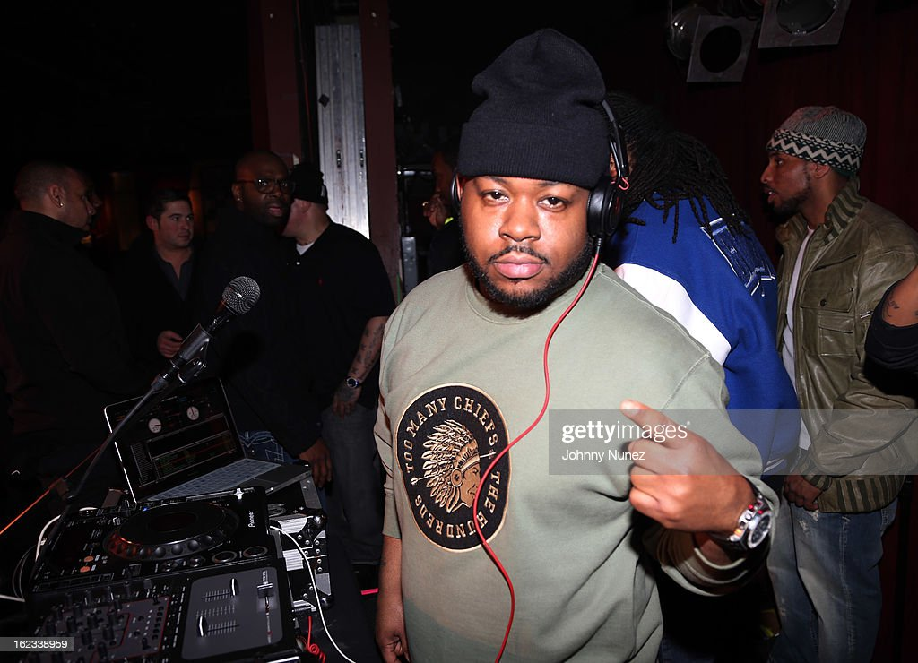 DJ Will Da Bronx Bomber spins at Waka Flocka's 'Thank You To Hip Hop' concert at BB King on February 21, 2013, in New York City.