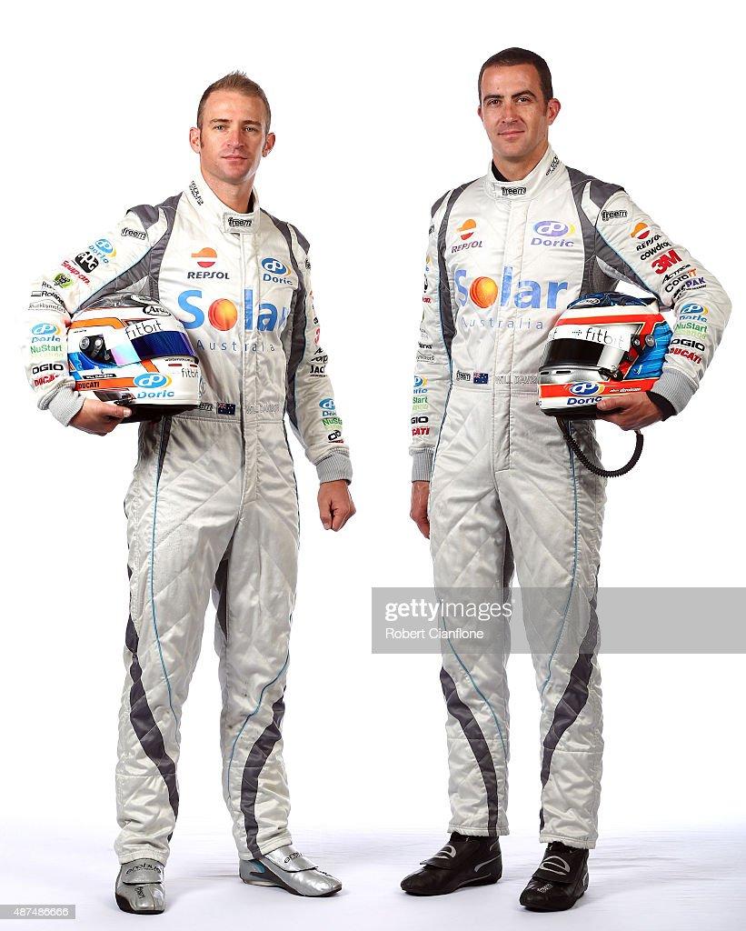 V8 Supercars Enduro Pairing Portrait Session