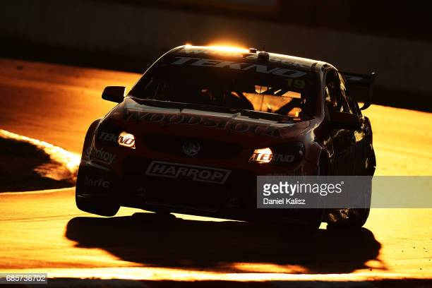 Will Davison drives the Tekno Woodstock Racing Holden Commodore VF during race 9 for the Winton SuperSprint which is part of the Supercars...