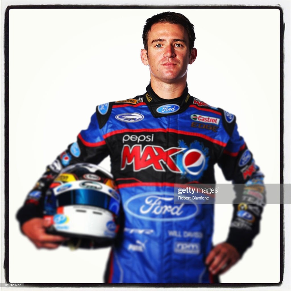 Will Davison of Ford Performance Racing poses during a V8 Supercars driver portrait session at Eastern Creek on February 15, 2013 in Sydney, Australia.