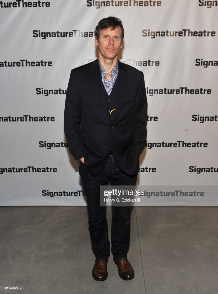 Will Eno attends the 2013 Signature Theatre Gala at The Signature Center on February 11, 2013 in New York City.