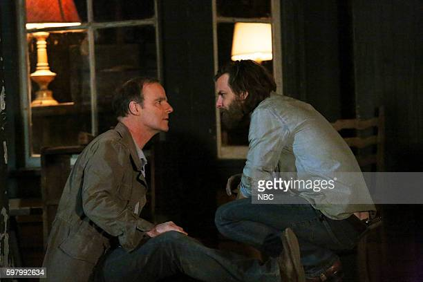 AQUARIUS 'I Will' Episode 213 Pictured Brían F O'Byrne as Ken Karn Gethin Anthony as Charles Manson
