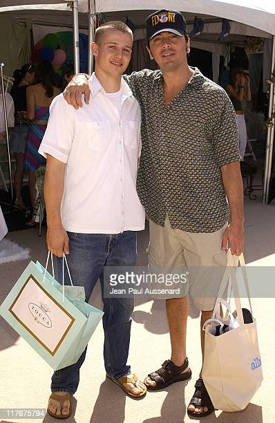 Will Estes and Scott Baio at Tocca during The Silver Spoon Beauty Buffet Sponsored By Allure Day Two at Private Residence in Los Angeles California...