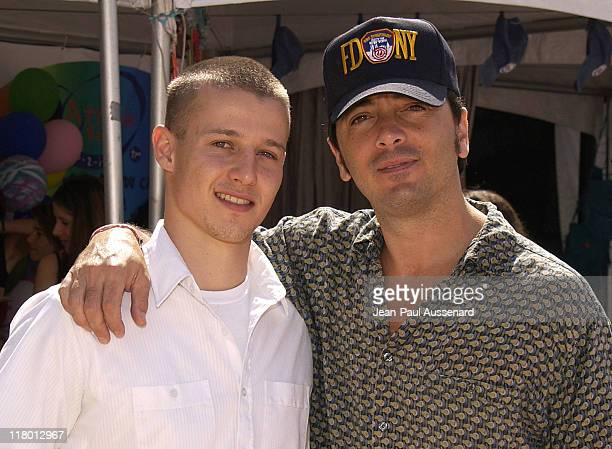 Will Estes and Scott Baio during The Silver Spoon Beauty Buffet Sponsored By Allure Day Two at Private Residence in Los Angeles California United...