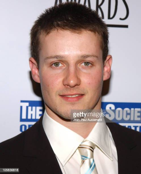 Will Estes during 20th Anniversary Genesis Awards Arrivals at Beverly Hilton in Beverly Hills California United States