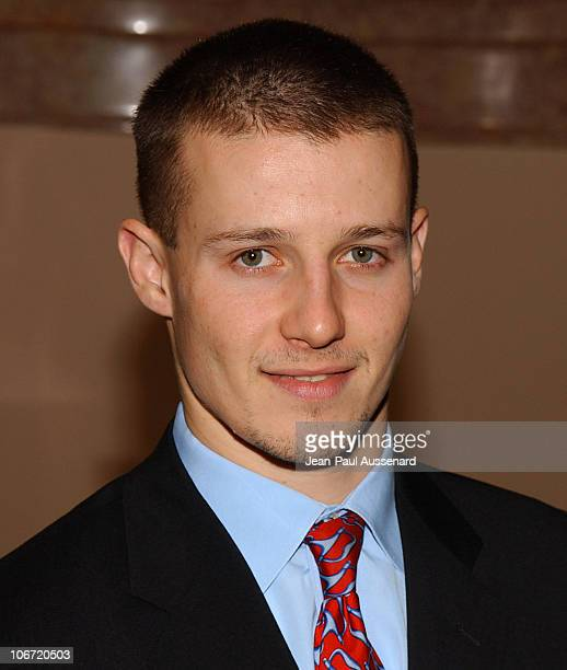 Will Estes during The Museum of Television and Radio Honors CBS News's Dan Rather and 'Friends' Producing Team Inside at Beverly Hills Hotel in...