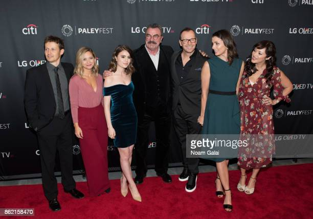 Will Estes Vanessa Ray Sami Gayle Tom Selleck Donnie Wahlberg Bridget Moynahan and Marisa Ramirez attends the 'Blue Bloods' screening during...