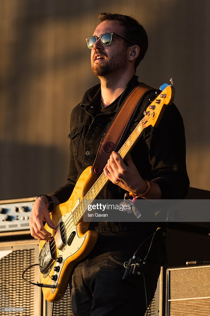 Will Farquarson of 'Bastille' performs on the Other Stage during the Glastonbury Festival at Worthy Farm, Pilton on June 24, 2016 in Glastonbury, England. Now its 46th year the festival is one largest music festivals in the world and this year features headline acts Muse, Adele and Coldplay. The Festival, which Michael Eavis started in 1970 when several hundred hippies paid just £1, now attracts more than 175,000 people.
