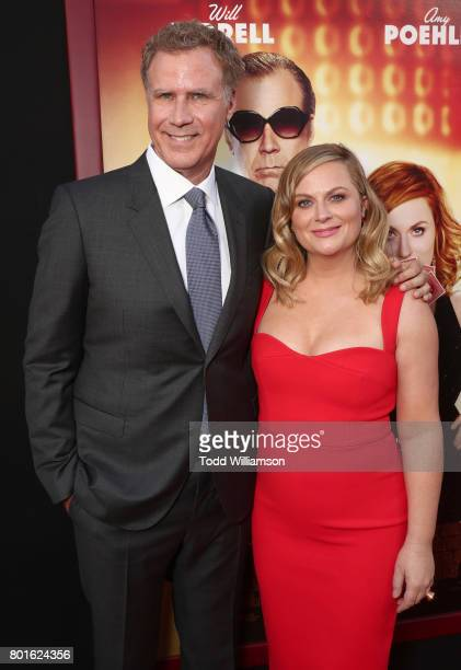 Will Ferrell and Amy Poehler attend the premiere of Warner Bros Pictures' 'The House' at the TCL Chinese Theatre on June 26 2017 in Hollywood...