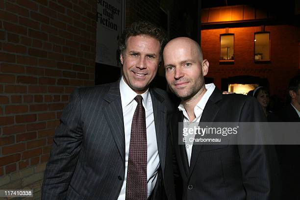 Will Ferrell and Director Marc Forster during 31st Annual Toronto International Film Festival Columbia Pictures' Screening of 'Stranger than Fiction'...