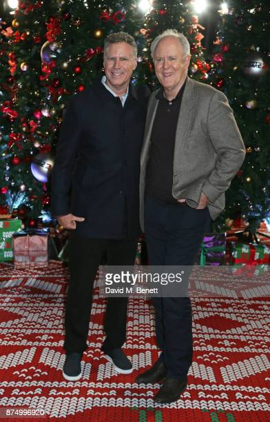 Will Ferrell and John Lithgow attend the UK Premiere of 'Daddy's Home 2' at the Vue West End on November 16 2017 in London England