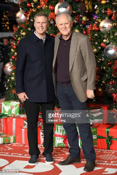 Will Ferrell and John Lithgow attend the UK Premiere of 'Daddy's Home 2' at Vue West End on November 16 2017 in London England