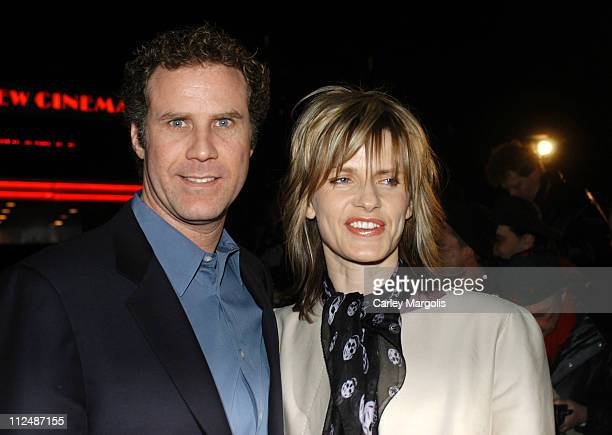 Will Ferrell and Viveca Paulin during 'Melinda and Melinda' New York Premiere Arrivals at Chelsea West Theater in New York City New York United States