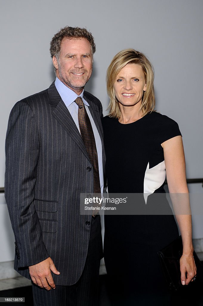 Will Ferrell and Viveca Paulin Ferrell attend Hammer Museum 11th Annual Gala In The Garden With Generous Support From Bottega Veneta, October 5, 2013, Los Angeles, CA at Hammer Museum on October 5, 2013 in Westwood, California.