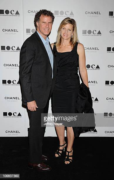 Will Ferrell and wife Viveca Paulin arrive at MOCA Presents Envisioned By Artist Doug Aitken at MOCA Grand Avenue on November 13 2010 in Los Angeles...