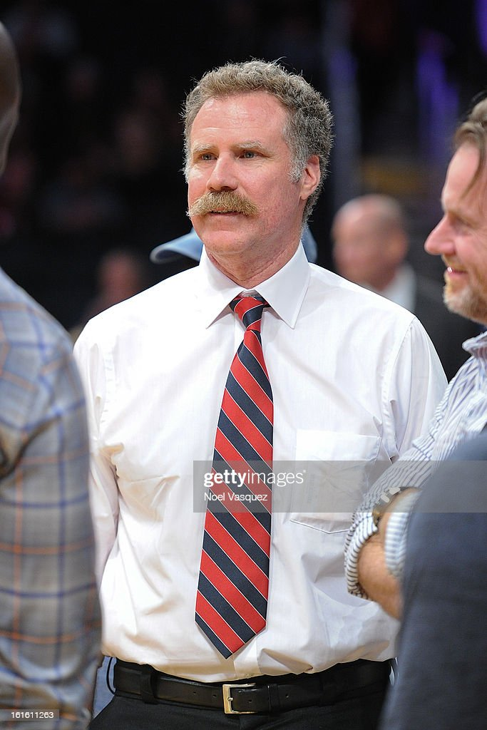Will Ferrell attends a basketball game between the Phoenix Suns and the Los Angeles Lakers at Staples Center on February 12, 2013 in Los Angeles, California.