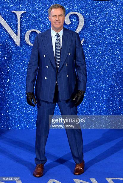 Will Ferrell attends a London Fan Screening of the Paramount Pictures film 'Zoolander No 2' at Empire Leicester Square on February 4 2016 in London...