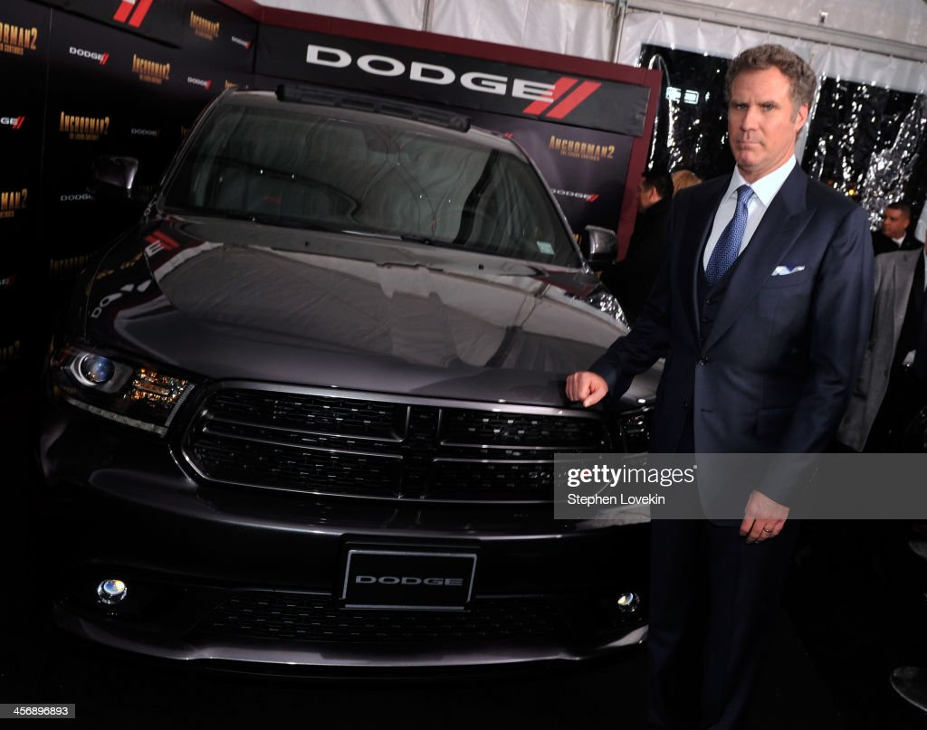 <a gi-track='captionPersonalityLinkClicked' href=/galleries/search?phrase=Will+Ferrell&family=editorial&specificpeople=171995 ng-click='$event.stopPropagation()'>Will Ferrell</a> attends 'Anchorman 2' Premiere NYC Sponsored By Dodge at Beacon Theatre on December 15, 2013 in New York City.