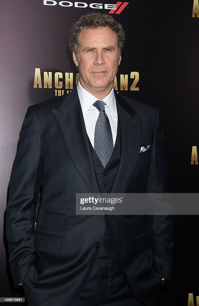 <a gi-track='captionPersonalityLinkClicked' href=/galleries/search?phrase=Will+Ferrell&family=editorial&specificpeople=171995 ng-click='$event.stopPropagation()'>Will Ferrell</a> attends the 'Anchorman 2: The Legend Continues' U.S. premiere at Beacon Theatre on December 15, 2013 in New York City.