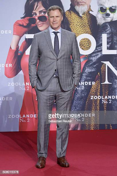 Will Ferrell attends the Berlin fan screening of the film 'Zoolander No 2' at CineStar on February 2 2016 in Berlin Germany