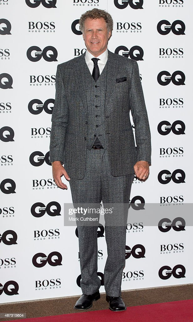 Will Ferrell attends the GQ Men of the Year Awards at The Royal Opera House on September 8, 2015 in London, England.