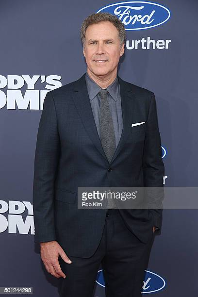 Will Ferrell attends the New York Premiere of 'Daddy's Home' at AMC Lincoln Square Theater on December 13 2015 in New York City