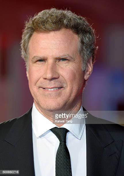 Will Ferrell attends the UK Film Premiere of 'Daddy's Home' at Vue West End on December 9 2015 in London England