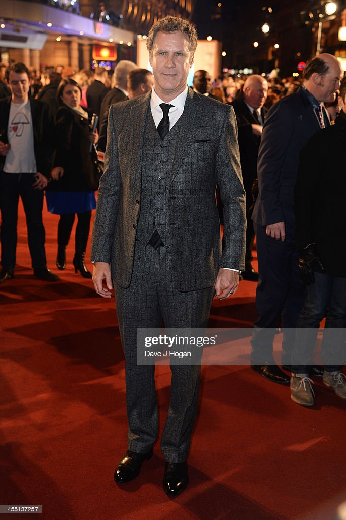 <a gi-track='captionPersonalityLinkClicked' href=/galleries/search?phrase=Will+Ferrell&family=editorial&specificpeople=171995 ng-click='$event.stopPropagation()'>Will Ferrell</a> attends the UK premiere of 'Anchorman 2: The Legend Continues' at The Vue West End on December 11, 2013 in London, England.