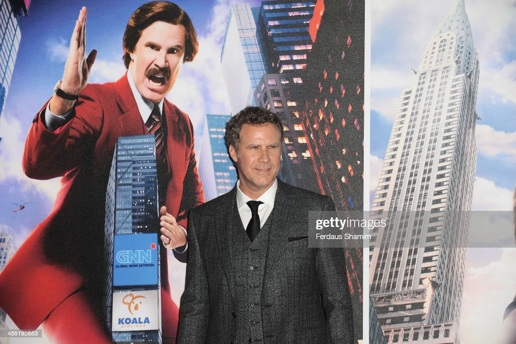 <a gi-track='captionPersonalityLinkClicked' href=/galleries/search?phrase=Will+Ferrell&family=editorial&specificpeople=171995 ng-click='$event.stopPropagation()'>Will Ferrell</a> attends the UK premiere of 'Anchorman 2: The Legend Continues' at Vue West End on December 11, 2013 in London, England.