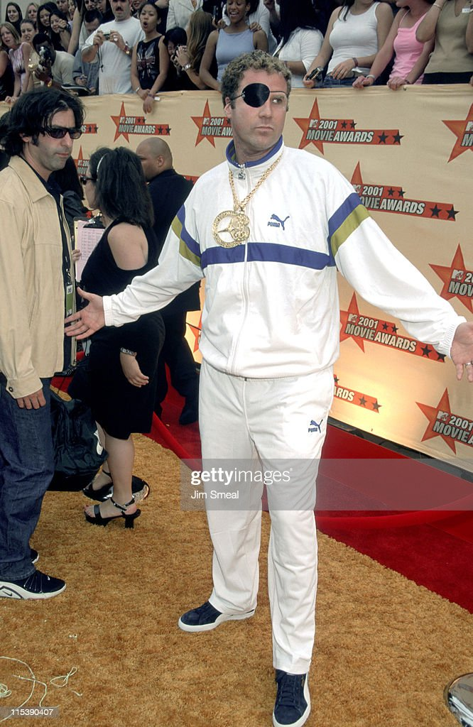 Will Ferrell during 2001 MTV Movie Awards - Arrivals at Shrine Auditorium in Los Angeles, California, United States.