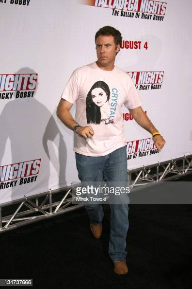 Will Ferrell during 'Talladega Nights' Los Angeles Premiere Arrivals at Grauman's Chinese Theater in Hollywood California United States