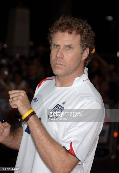 The Ballad of Ricky Bobby UK Premiere Arrivals at Empire Leicester Square in London Great Britain