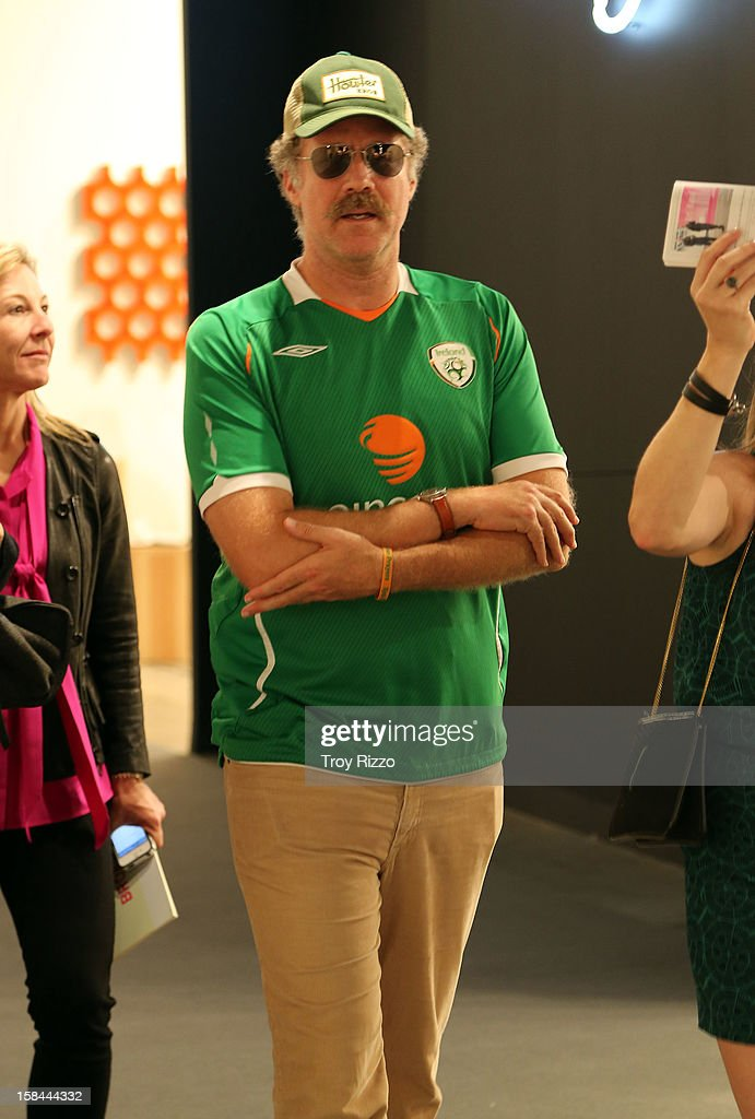 <a gi-track='captionPersonalityLinkClicked' href=/galleries/search?phrase=Will+Ferrell&family=editorial&specificpeople=171995 ng-click='$event.stopPropagation()'>Will Ferrell</a> is sighted during Art Basel Miami at the Miami Beach Convention Center on December 7, 2012 in Miami Beach, Florida.