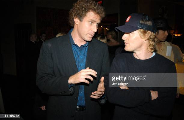 Will Ferrell Owen Wilson during Old School After Party at Highlands Night Club in Hollywood CA United States