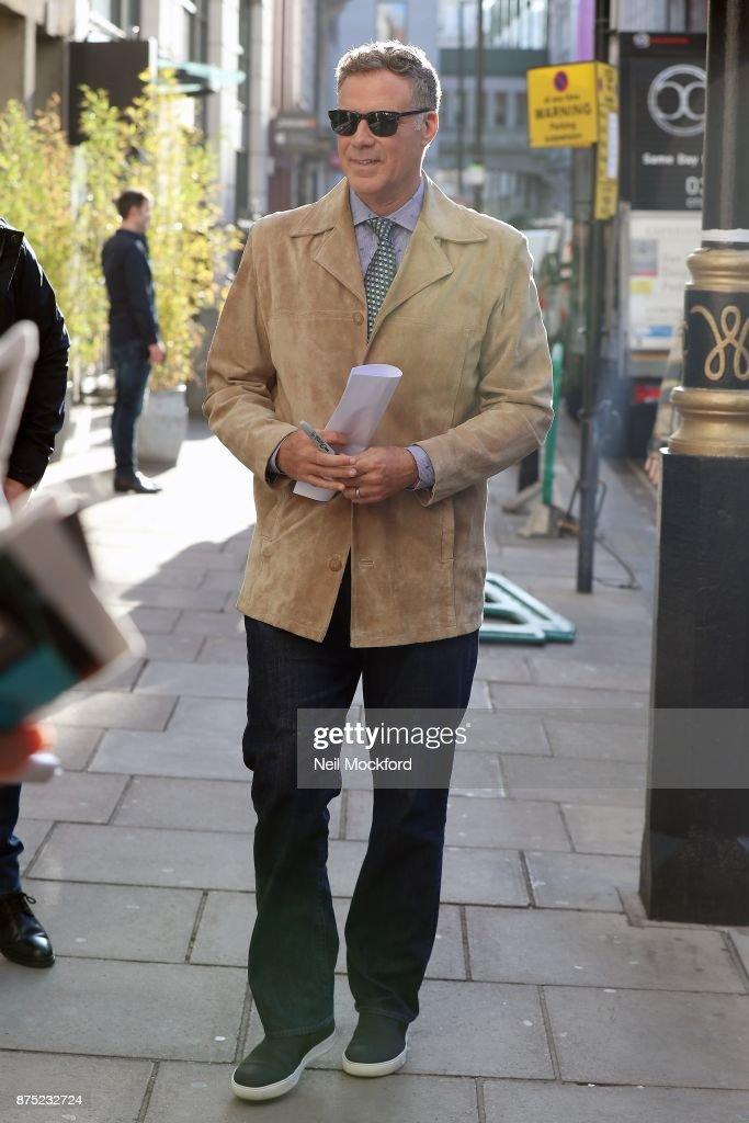 London Celebrity Sightings -  November 17, 2017