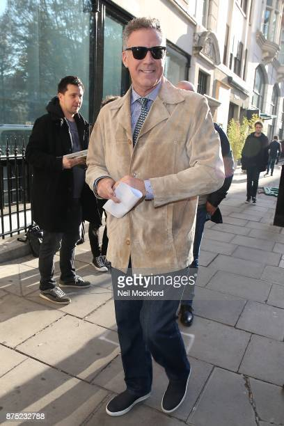 Will Ferrell seen at the Bauer Media Studios to promote 'Daddy's Home 2' on Magic Radio and KISS FM UK on November 17 2017 in London England