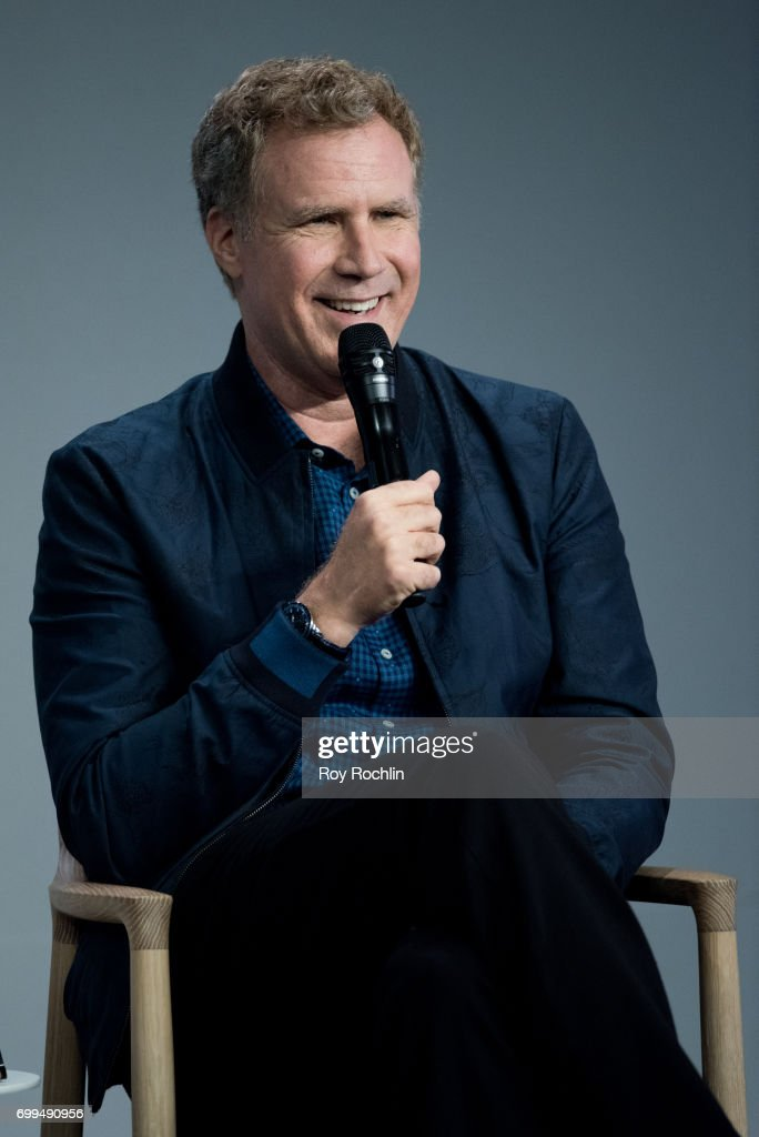 Will Ferrell speaks about his new film 'The House' at Apple Store Soho on June 21, 2017 in New York City.