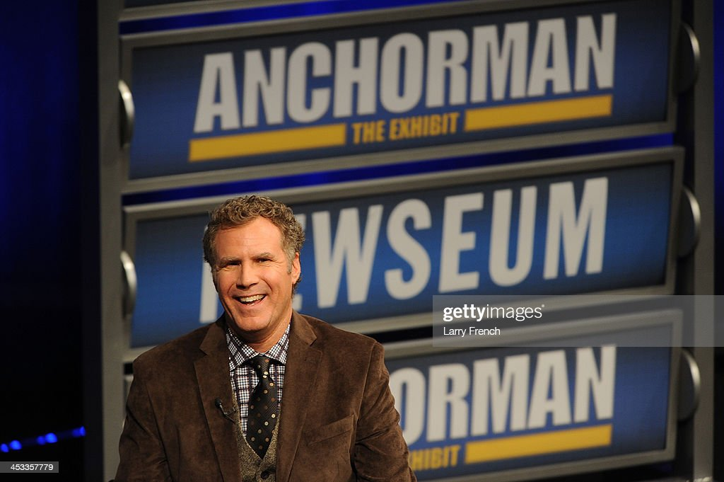 <a gi-track='captionPersonalityLinkClicked' href=/galleries/search?phrase=Will+Ferrell&family=editorial&specificpeople=171995 ng-click='$event.stopPropagation()'>Will Ferrell</a> speaks to a VIP Newseum audience at a special evening with the 'Anchorman' star at Annenberg Theater on December 3, 2013 in Washington, DC.