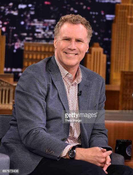 Will Ferrell Visits 'The Tonight Show Starring Jimmy Fallon' on June 19 2017 in New York City