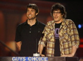 Will Forte and Andy Samberg present Gift from the Gods award